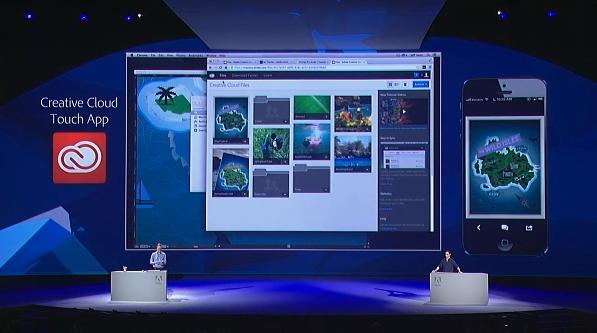 Creative Cloud Touch App