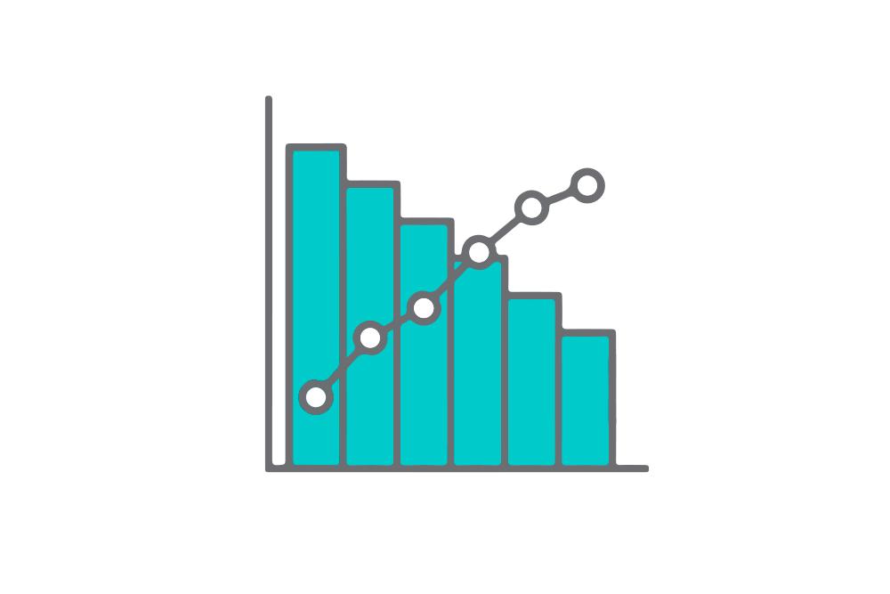 diagrama em gráfico