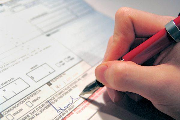 Formulário não é registro