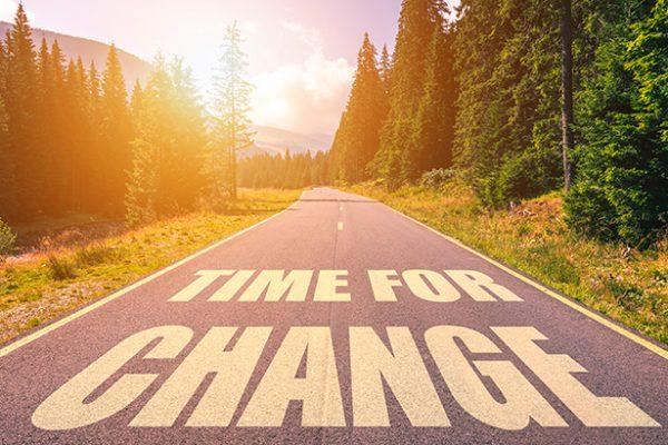 Tempo de mudanças