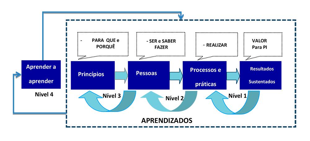Fig. 5- Gestão da busca e realização do propósito comum