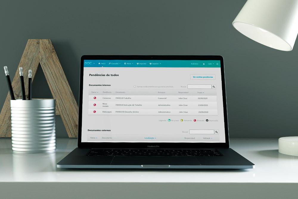 software para gestão de documentos qualyteam